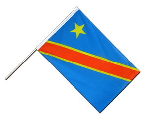 Democratic Republic of the Congo - Hand Waving Flag ECO 2x3 ft