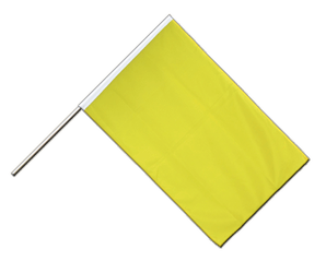 Yellow - Hand Waving Flag ECO 2x3 ft