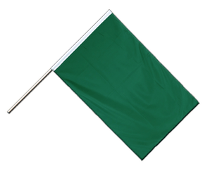 Green - Hand Waving Flag ECO 2x3 ft