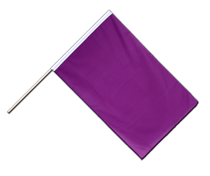 Purple Hand Waving Flag ECO 2x3 ft