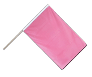 Pink - Hand Waving Flag ECO 2x3 ft