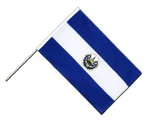El Salvador Hand Waving Flag ECO 2x3 ft