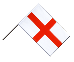 England St. George - Hand Waving Flag ECO 2x3 ft