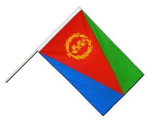Eritrea - Hand Waving Flag ECO 2x3 ft
