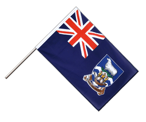 Falkland Islands - Hand Waving Flag ECO 2x3 ft