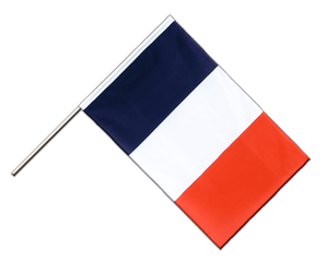 France Hand Waving Flag ECO 2x3 ft