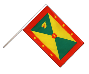 Grenada Hand Waving Flag ECO 2x3 ft