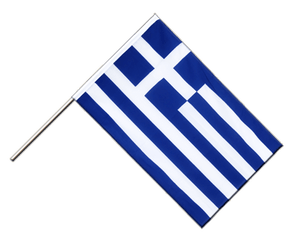 Greece Hand Waving Flag ECO 2x3 ft