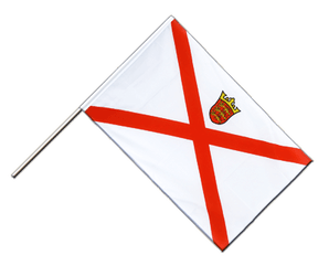 Jersey Hand Waving Flag ECO 2x3 ft