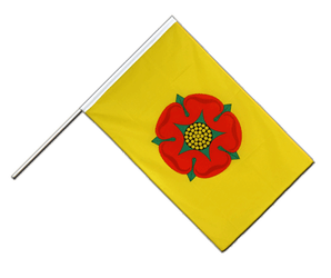 Lancashire new Hand Waving Flag ECO 2x3 ft