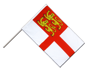 Sark Hand Waving Flag ECO 2x3 ft