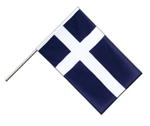 Shetland Hand Waving Flag ECO 2x3 ft