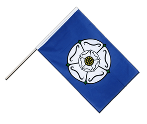 Yorkshire Hand Waving Flag ECO 2x3 ft