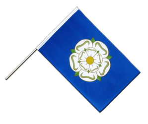Yorkshire new Hand Waving Flag ECO 2x3 ft
