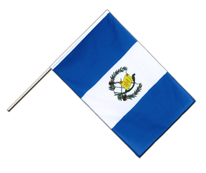 Guatemala Hand Waving Flag ECO 2x3 ft