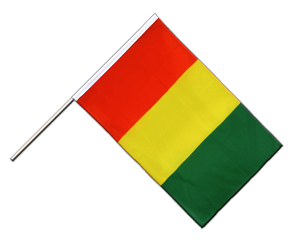 Guinea Hand Waving Flag ECO 2x3 ft
