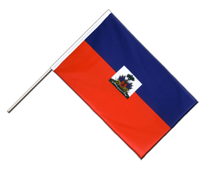 Haiti Hand Waving Flag ECO 2x3 ft