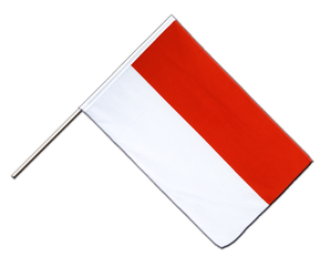 Indonesia Hand Waving Flag ECO 2x3 ft