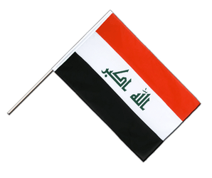 Iraq 2009 Hand Waving Flag ECO 2x3 ft