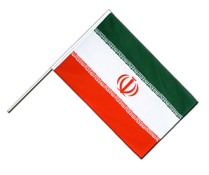 Iran - Hand Waving Flag ECO 2x3 ft