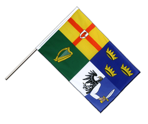 Ireland 4 provinces - Hand Waving Flag ECO 2x3 ft