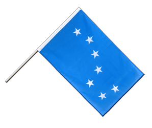 Starry Plough - Hand Waving Flag ECO 2x3 ft