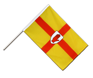 Ulster Hand Waving Flag ECO 2x3 ft