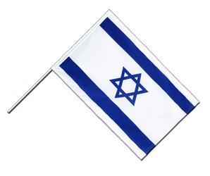 Israel - Hand Waving Flag ECO 2x3 ft