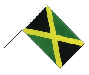 Jamaica Hand Waving Flag ECO 2x3 ft