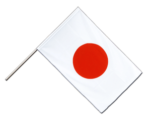 Japan - Hand Waving Flag ECO 2x3 ft