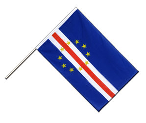 Cape Verde Hand Waving Flag ECO 2x3 ft