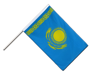 Kazakhstan - Hand Waving Flag ECO 2x3 ft