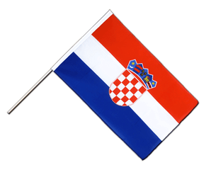 Croatia - Hand Waving Flag ECO 2x3 ft