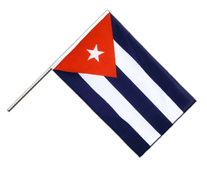Cuba Hand Waving Flag ECO 2x3 ft
