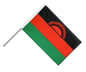 Malawi Hand Waving Flag ECO 2x3 ft