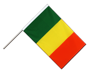 Mali Hand Waving Flag ECO 2x3 ft