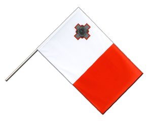 Malta Hand Waving Flag ECO 2x3 ft