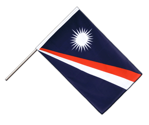 Marshall Islands Hand Waving Flag ECO 2x3 ft