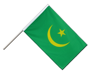 Mauritania - Hand Waving Flag ECO 2x3 ft