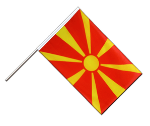 Macedonia - Hand Waving Flag ECO 2x3 ft