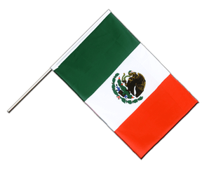 Mexico Hand Waving Flag ECO 2x3 ft