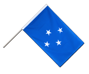 Micronesia Hand Waving Flag ECO 2x3 ft