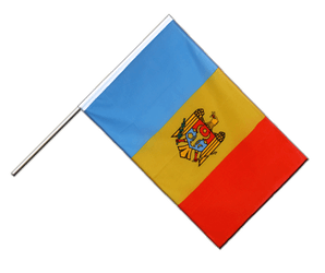 Drapeau République de Moldavie Hampe ECO 60 x 90 cm