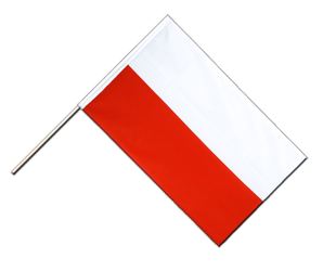Monaco Hand Waving Flag ECO 2x3 ft