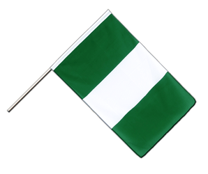 Nigeria Hand Waving Flag ECO 2x3 ft