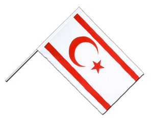 North Cyprus Hand Waving Flag ECO 2x3 ft