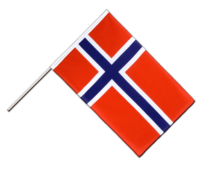 Norway Hand Waving Flag ECO 2x3 ft