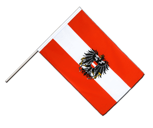 Austria eagle Hand Waving Flag ECO 2x3 ft