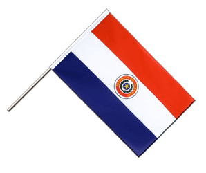 Paraguay Hand Waving Flag ECO 2x3 ft