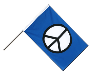 Peace CND - Hand Waving Flag ECO 2x3 ft